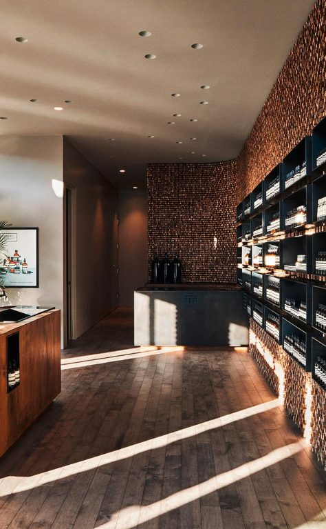 Aesop NYC: 400,000 Strips of the New York Times
