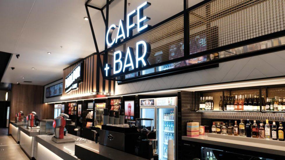 Cinema cafe bar design