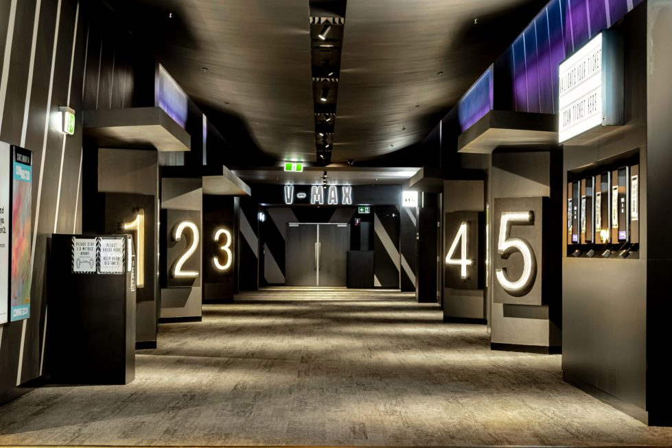 Concourse wayfinding at Event Toowoomba