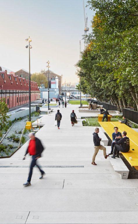 New York's High Line to Sydney's Goods Line precinct