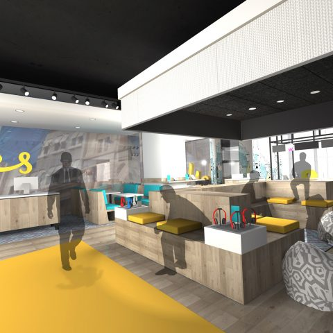 OPTUS – Flagship Store Concept, Sydney