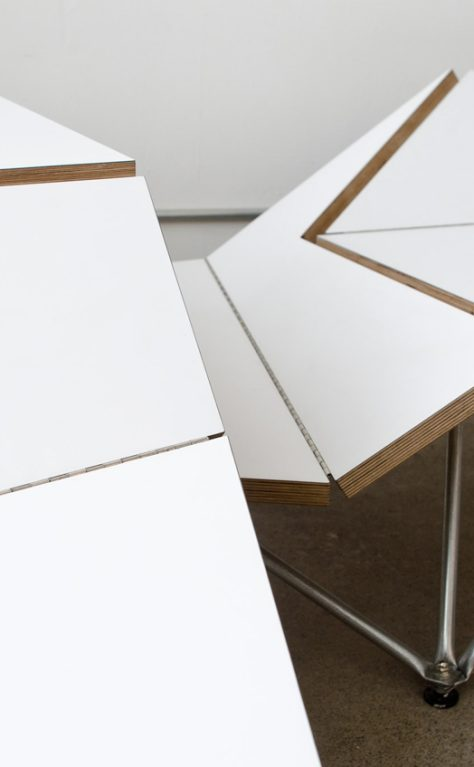 Origami Bench – Geometry of Planes