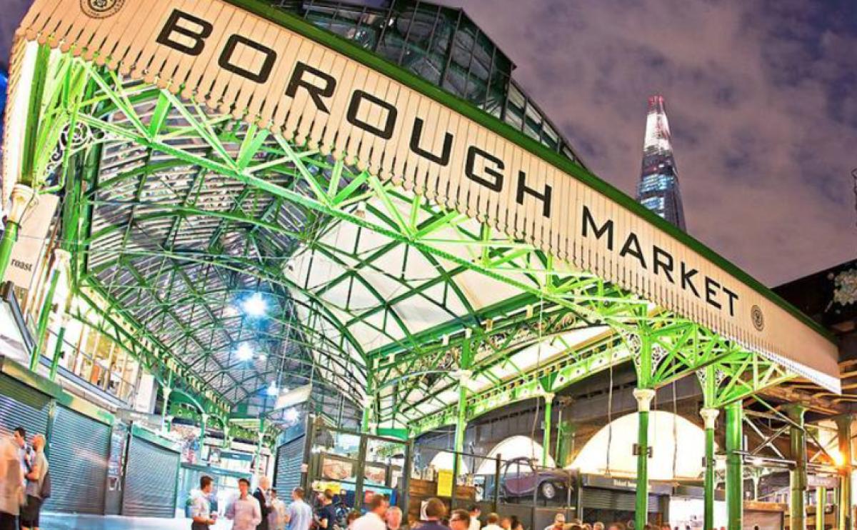 Borough Market London now delivering nationwide