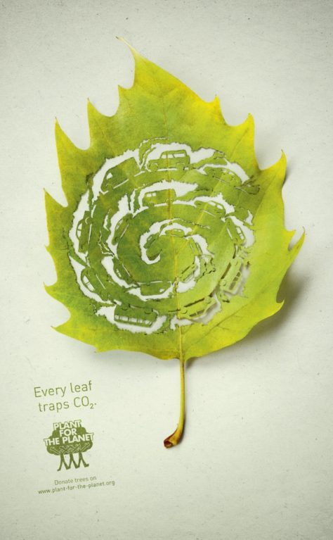 'Plant for the Planet' Ad Campaign