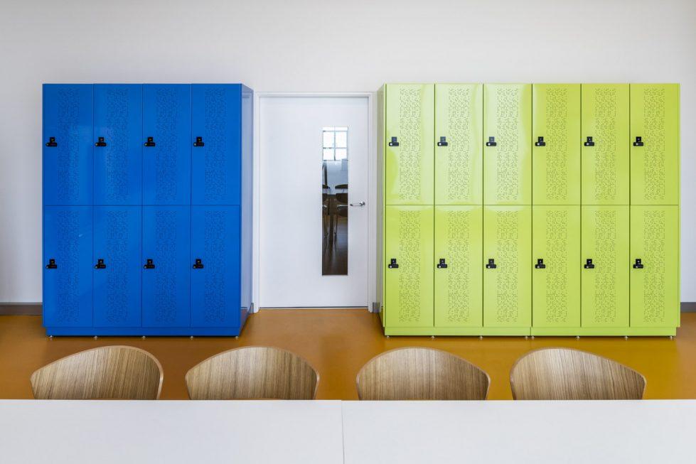 staff lockers