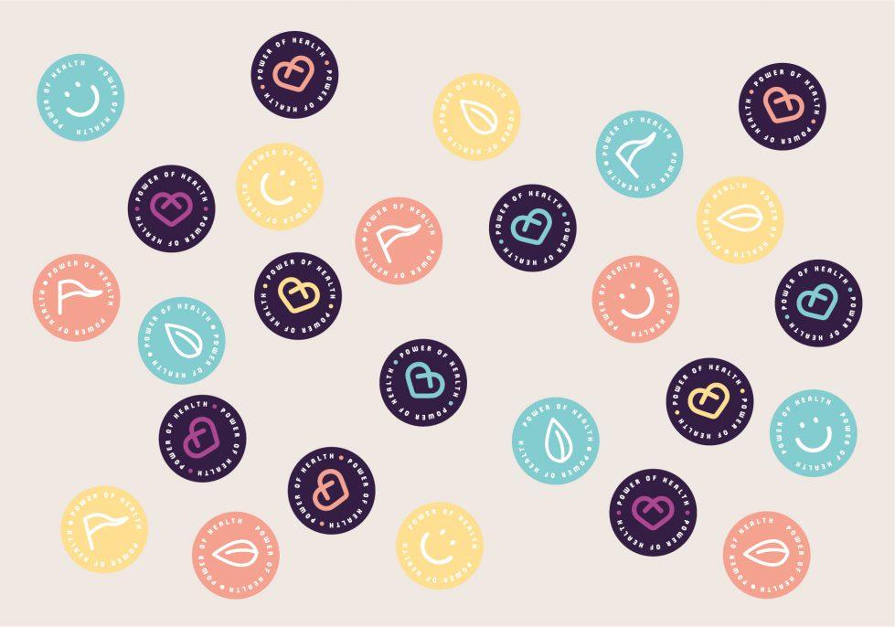coffee shops brand badge design