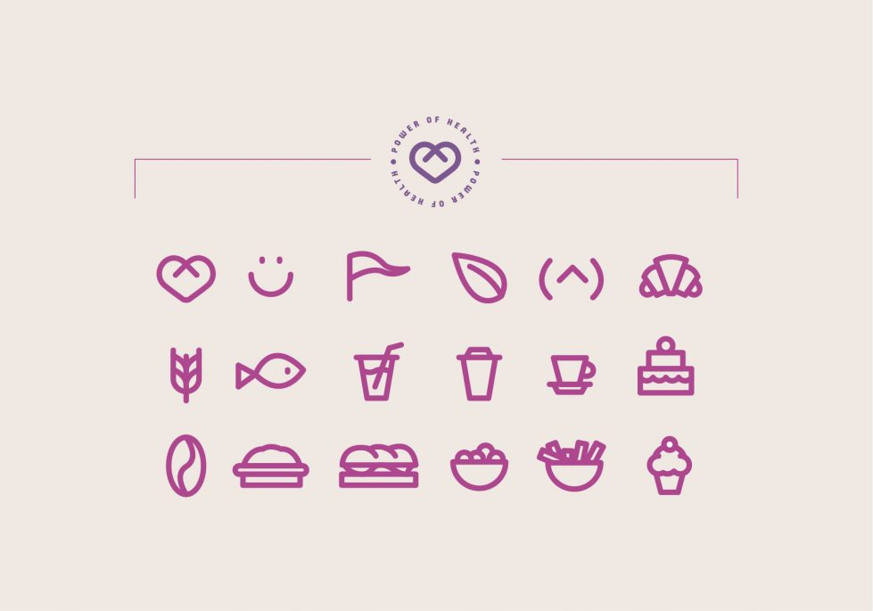 branding icons coffee shop
