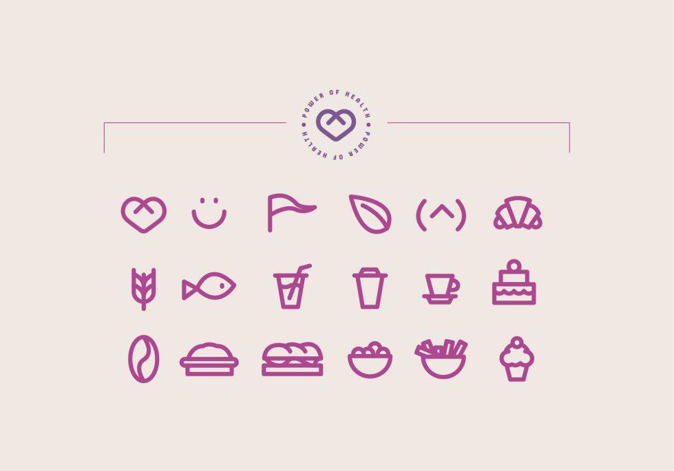 branding icons coffee shop