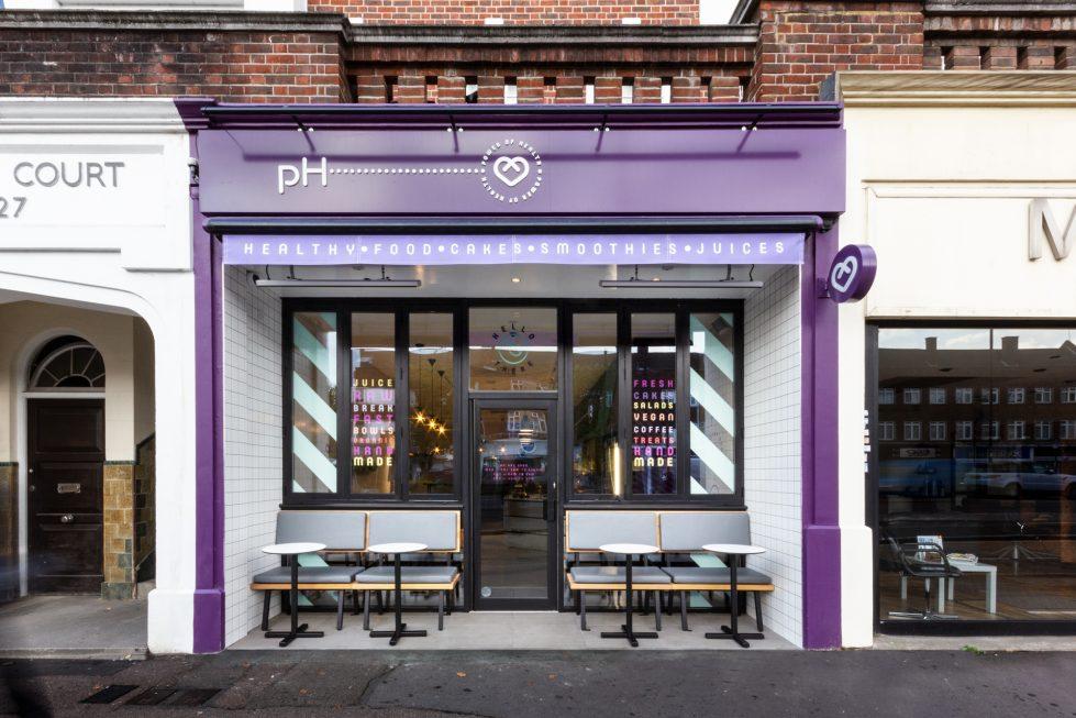 healthy food cafe design