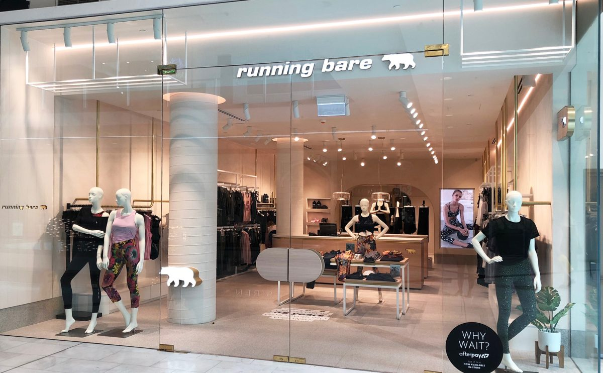 Running Bare opens at Westfield