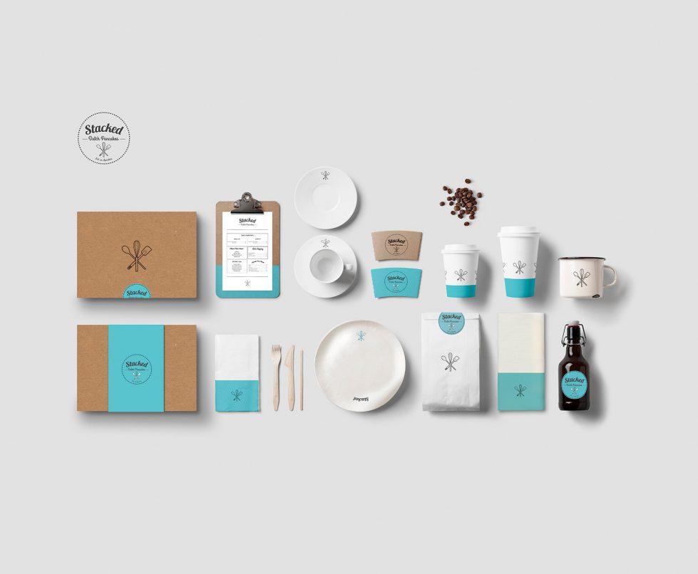 design clarity, brand implementation, visual identity, packaging design, food labels, menu design