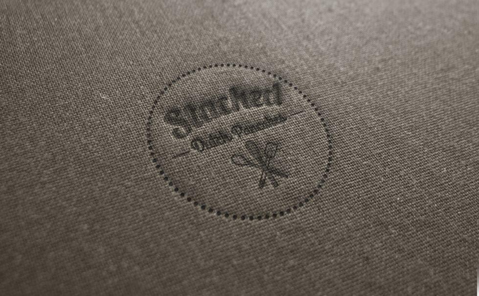 design clarity, logo design, branding creation, fabric, dutch pancake logo, kitchen