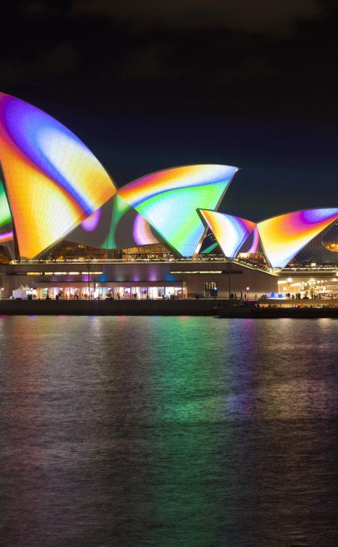Sydney turns vivid