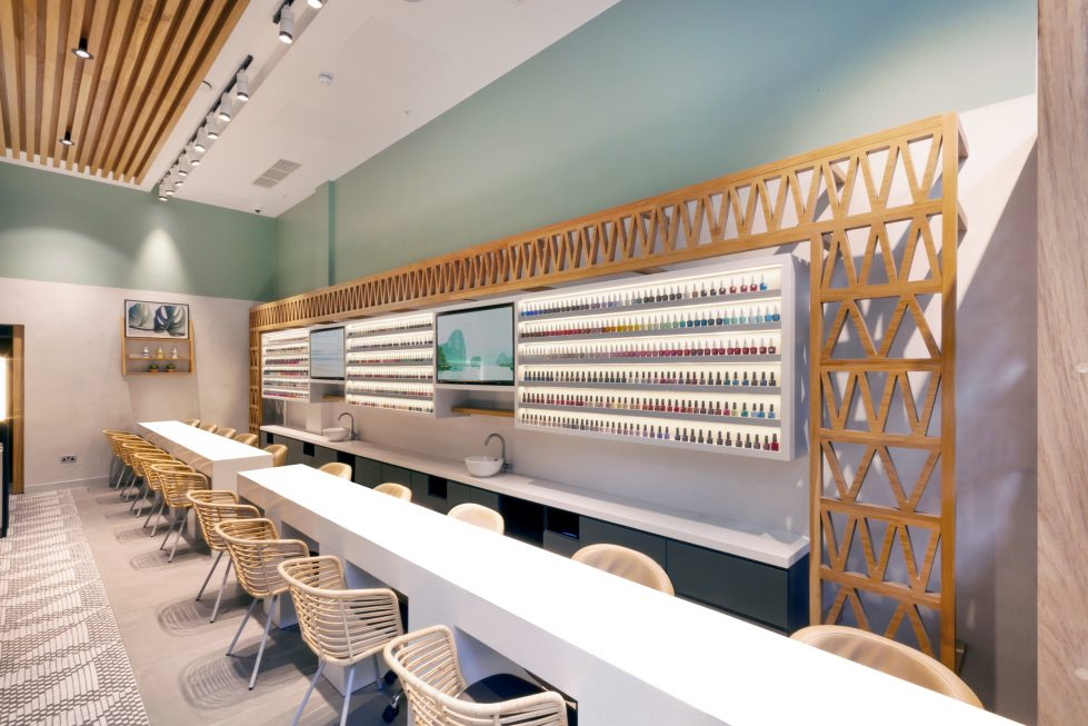 The Nail Spa | London | Design Clarity | Design Clarity