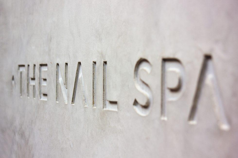The Nail Spa branding
