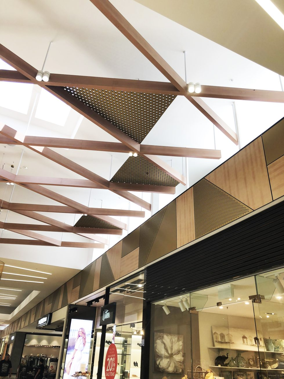 design clarity, integrated ceiling system, bespoke design, suspended ceiling, lighting, acoustic panelling design, cool interior, great interior details
